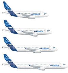 Airbus aircrafts